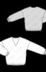 Блузка свободного силуэта с длинными рукавами - фото 3