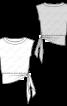 Блуза шовкова з асиметричною деталлю - фото 3