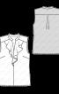 Блуза з жабо і коміром-стойкою - фото 3
