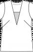 Блуза прямого крою - фото 3