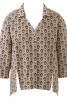 Простора блуза з видовженою спинкою - фото 2