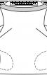 Блузка прямого крою  - фото 2
