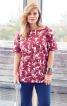 Блуза з вирізом горловини човником - фото 1