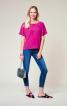 Блуза з вирізом на спинці - фото 1