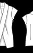 Блуза з перехресним коміром - фото 3