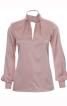 Блуза приталеного крою з оригінальним коміром - фото 2