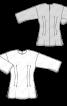 Блуза лляна приталеного крою - фото 3