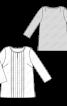 Туніка шовкова зі складками - фото 3
