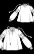 Блузка з рукавами «єпископ» - фото 3