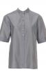 Блузка-сорочка з короткими рукавами - фото 2