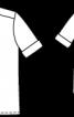 Блузка-сорочка з короткими рукавами - фото 3