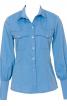 Блуза-сорочка з відлітними кокетками - фото 2