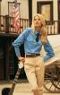 Блуза-сорочка з відлітними кокетками - фото 1