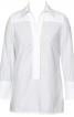 Блуза-сорочка із довгою застібкою поло - фото 2