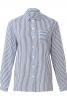 Блузка сорочкового крою з коміром на стойці - фото 2