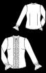 Блузка с оборками в стиле 70-х - фото 3