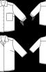Сорочка прямого крою без застібки - фото 3
