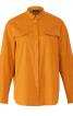 Блуза просторого крою із потайною застібкою - фото 2