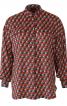 Блуза сорочкового крою з потайною застібкою - фото 2