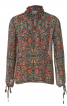 Блузка в стилі 70-х з коміром-рюшем - фото 2