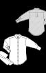 Блуза-сорочка з широким поясом - фото 3