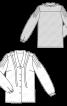 Блузка-сорочка із зав'язкою під коміром - фото 3