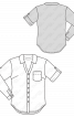 Блузка-сорочка приталеного силуету - фото 3
