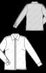 Блузка-сорочка в класичному стилі - фото 3
