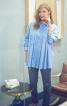 Блуза-сорочка зі складками - фото 1