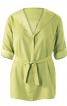 Блузка сорочкового крою А-силуету - фото 2