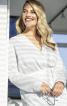 Блузка-сорочка з видовженою спинкою - фото 1