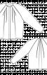 Блуза простора з рукавами-реглан - фото 3
