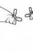"Блузка з рукавами ""летюча миша"" - фото 3"