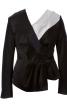 Блуза асиметричного крою з запахом - фото 2