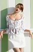Блузка з пишною баскою - фото 1