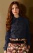 Блуза з баскою - фото 1