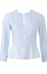 Блуза з баскою - фото 2