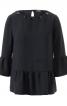 Блуза просторого крою з оборками - фото 2