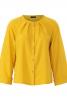 Блуза розкльошеного силуету з рукавами реглан - фото 2