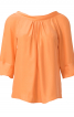 Блузка з рукавами реглан і декольте на спинці - фото 2