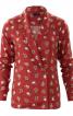 Блуза із запахом і шалевим коміром - фото 2