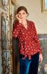 Блуза із запахом і шалевим коміром - фото 1