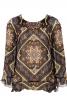 Блуза А-силуету з воланами - фото 2