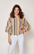 Блуза з пишними оборками на рукавах - фото 1