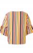 Блуза з пишними оборками на рукавах - фото 4