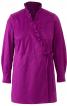 Блуза відрізна із запахом і оборками - фото 2