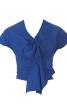 Блуза з ефектом запаху - фото 2