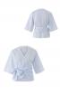 Блузка з запахом і широким поясом - фото 2