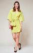 Сукня міні з запахом і широким поясом - фото 1