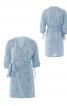 Сукня міні з запахом і пишними рукавами - фото 2